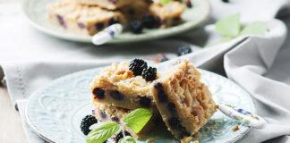 ciasta z jeżynami